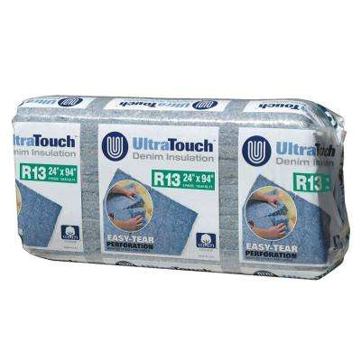 24.25 in. x 94 in. R13 Denim Insulation (8-Bags)