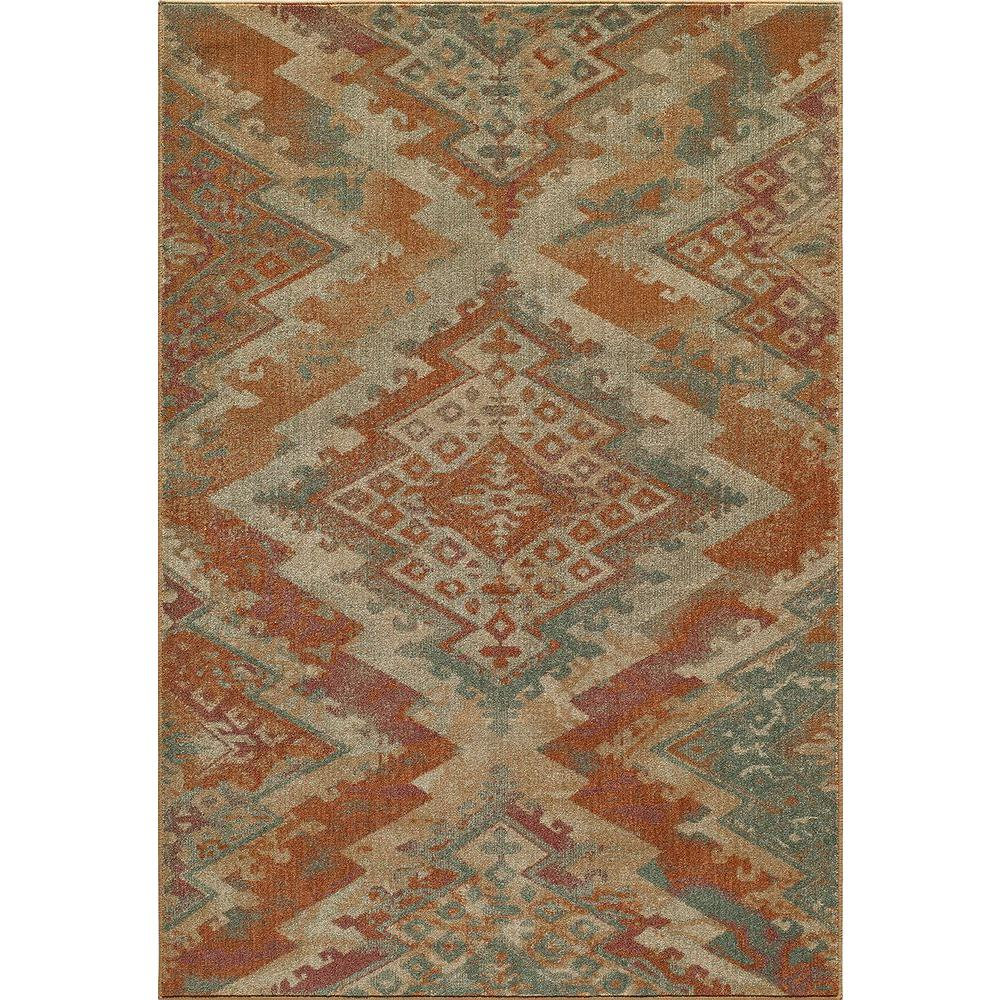 Momeni Vista Multi 3 ft. 7 in. x 5 ft. 7 in. Area Rug