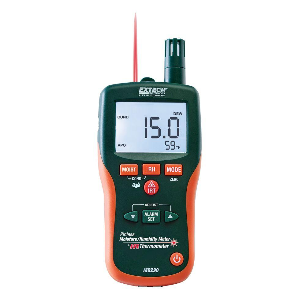 Moisture Meter - Electrical Testers - The Home Depot