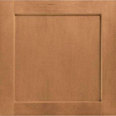 14-1/2 in. x 14-9/16 in. Cabinet Door Sample in Leesburg Maple Spice