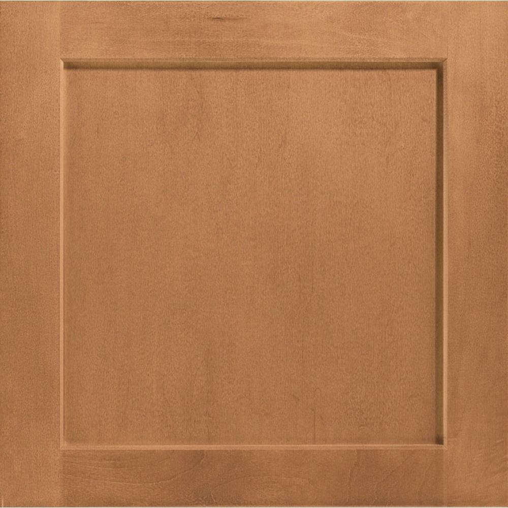 14-1/2 in. x 14-9/16 in. Cabinet Door Sample in Leesburg Maple Spice