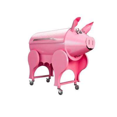 Lil' Pig Electrical Pellet Grill in Pink