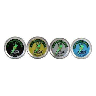 Steak Thermometer with Glow in the Dark Dial (Set of 4)