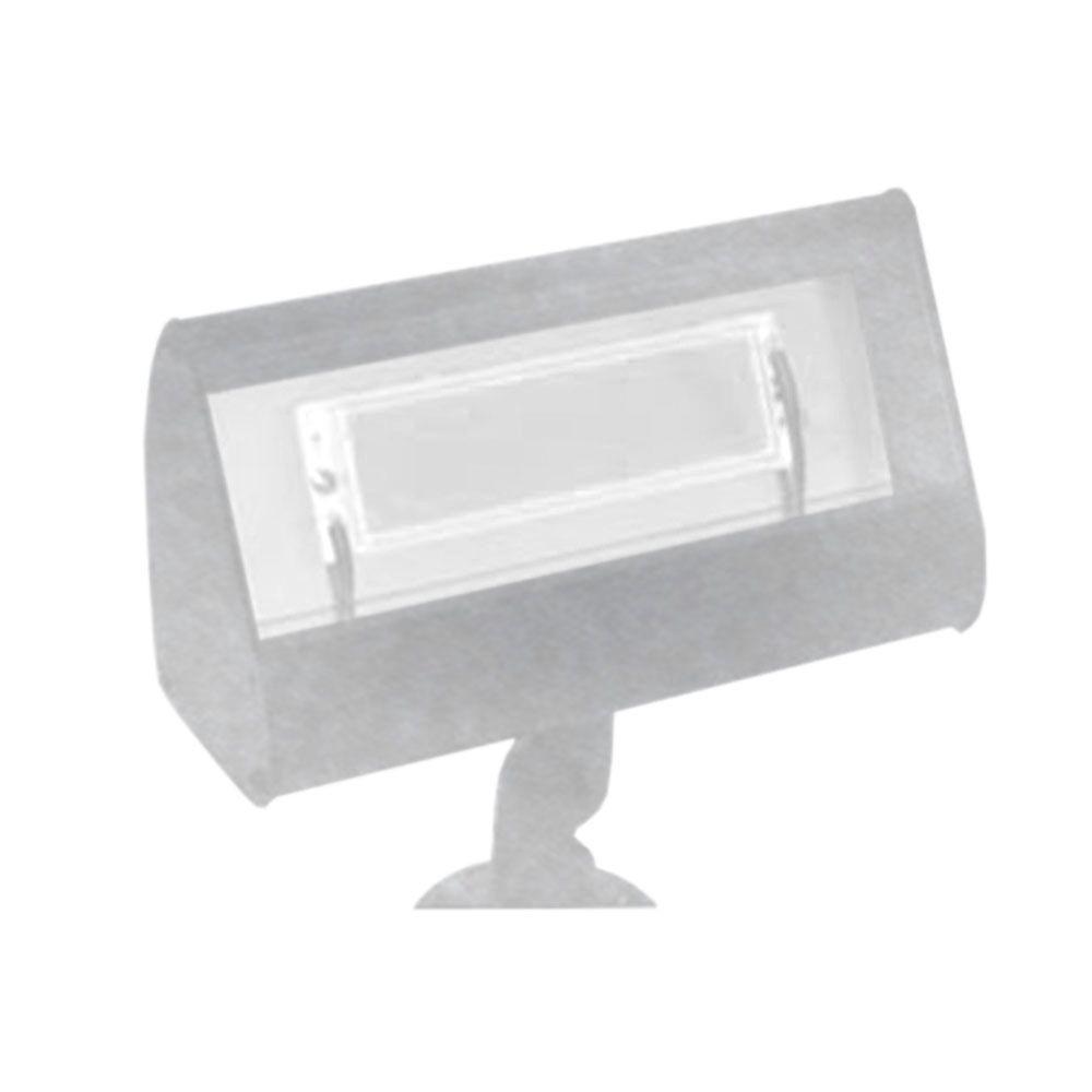 Filament Design Centennial 1-Light Outdoor LED Chrome Flood Light