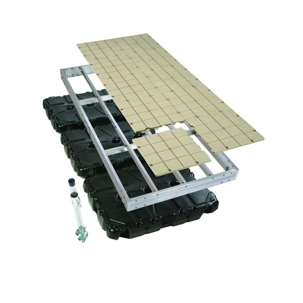 Home Depot Boats : Playstar ft aluminum floating dock with resin