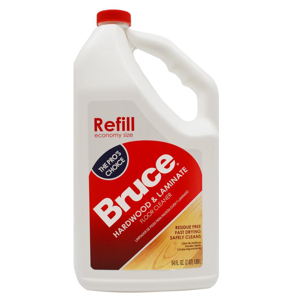 Bruce 64 fl. oz. Hardwood and Laminate Floor Cleaner Refill
