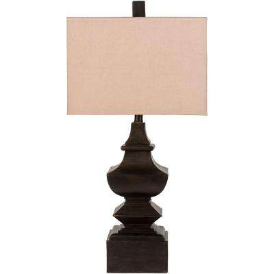 Jansky 30 in. Aged Bronze Indoor Table Lamp