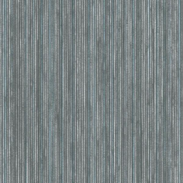 Textured Grasscloth Chambray Peel and Stick Wallpaper 56 sq. ft.