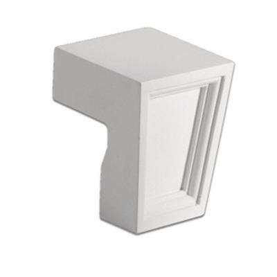 2- 3/4 in. x 3-1/8 in. x 2-7/16 in. Polyurethane Keystone for Brick Mould and Louvers/Trim