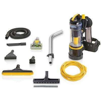 2.0 Commercial Bagless Backpack Vacuum with Deluxe 1-1/2 in. Tool Kit Pro Model