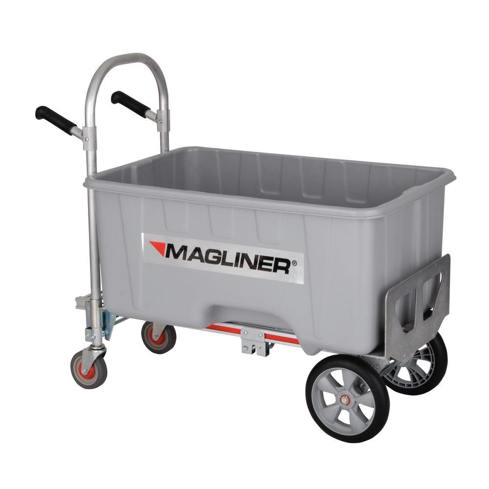 1,000 lb. Capacity Gemini Jr. Convertible Aluminum Hand Truck, Microcellular Foam Wheels, Bulk Container and Drain Plug