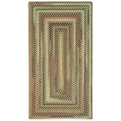 Bangor Sandy Beige 2 ft. 3 in. x 4 ft. Concentric Area Rug