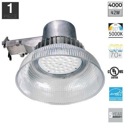 4000-Lumen Aluminum Outdoor Integrated LED Area Light