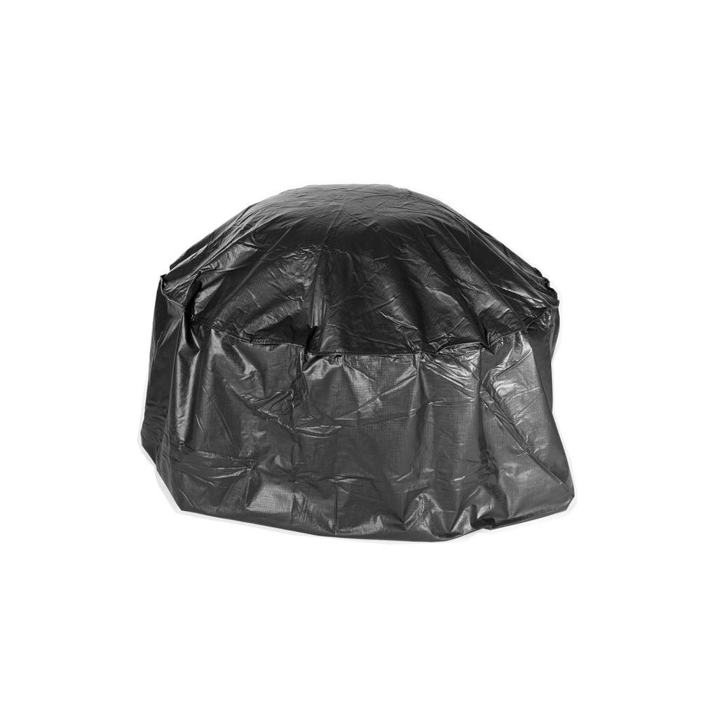 Fire Sense Outdoor Round Patio Fire Pit Vinyl Cover 02126
