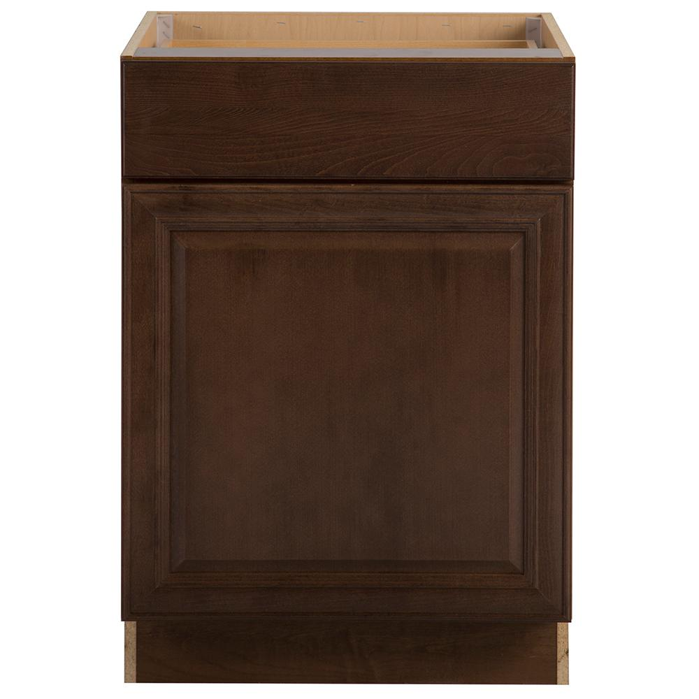 Assembled 24x34 5x24 In Drawer Base Kitchen Cabinet In: Hampton Bay Benton Assembled 24x34.5x24.63 In. Base