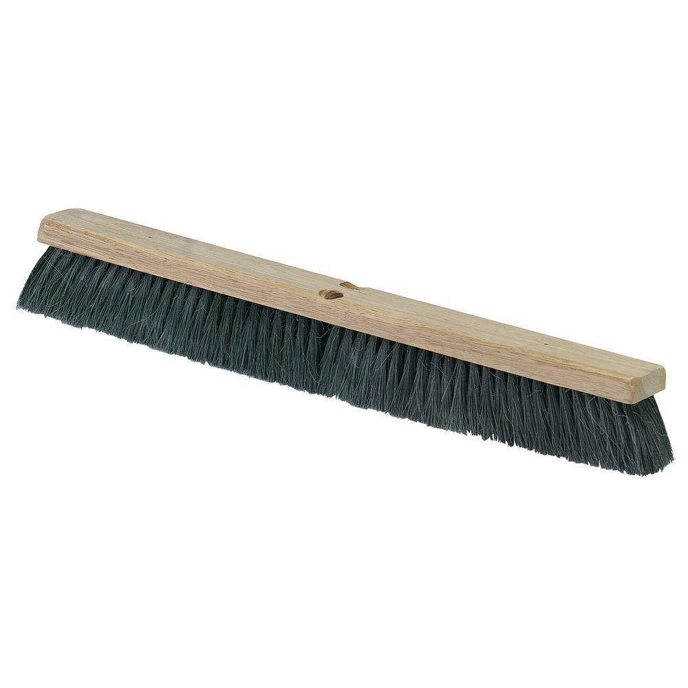 18 in. Tampico Fiber Medium/Fine Floor Sweep (12-Case)