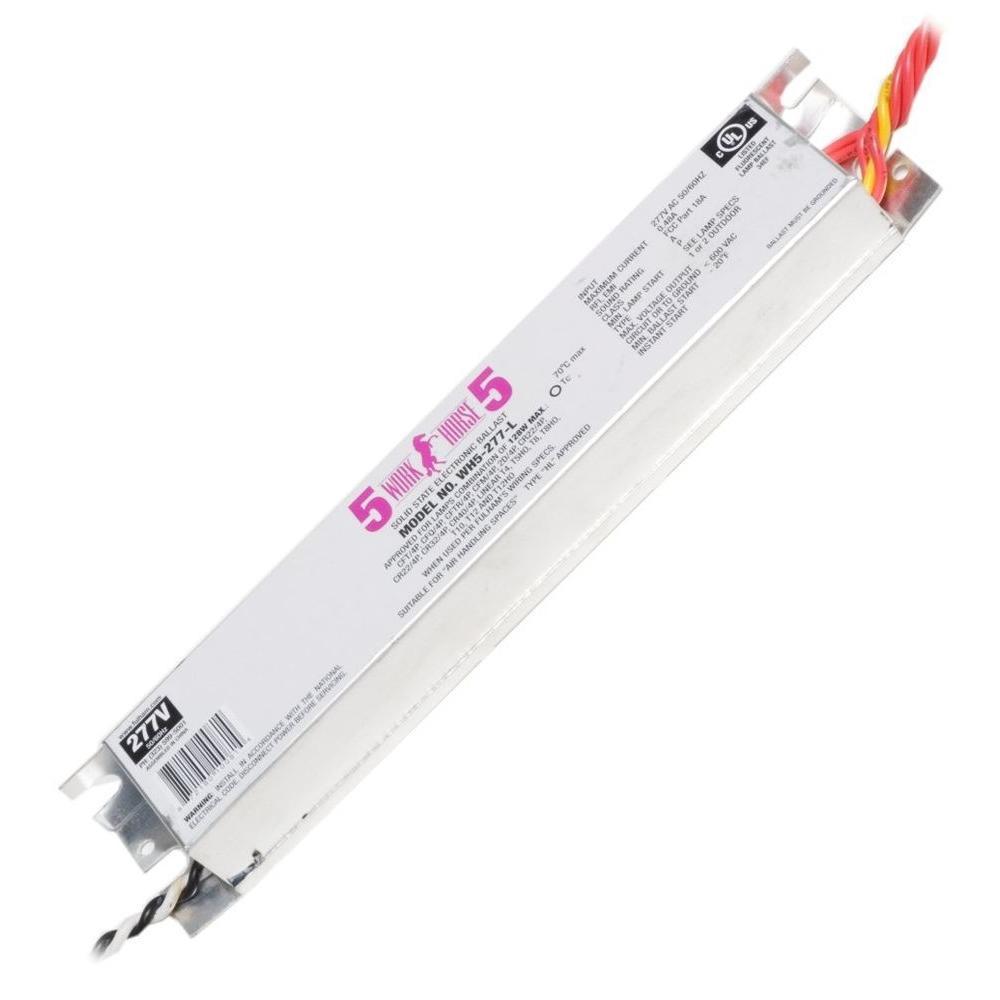 128-Watt 277-Volt Fluorescent Electronic Ballast