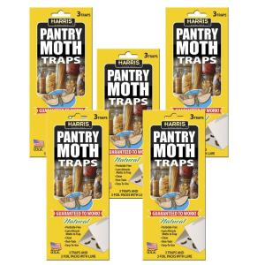 Harris Pantry Moth Traps with Lure - 15 Trap Value Pack by Harris