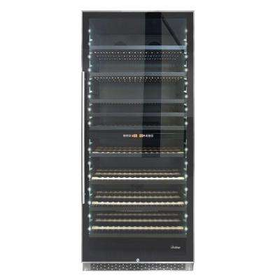 300-Bottle Dual-Zone Wine Cooler