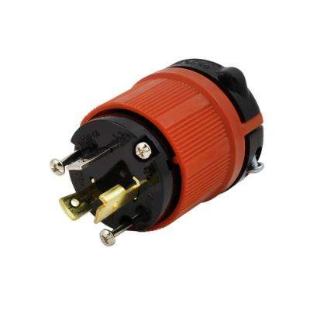 NEMA L5-20P 20 Amp 125-Volt 3-Prong Assembly Locking Male Plug
