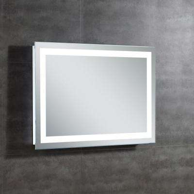 Helios 28 in. L x 39 in. W Single Wall LED Mirror