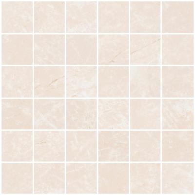 Delray Beige 12 in. x 12 in. x 8.5 mm Porcelain Mosaic Tile