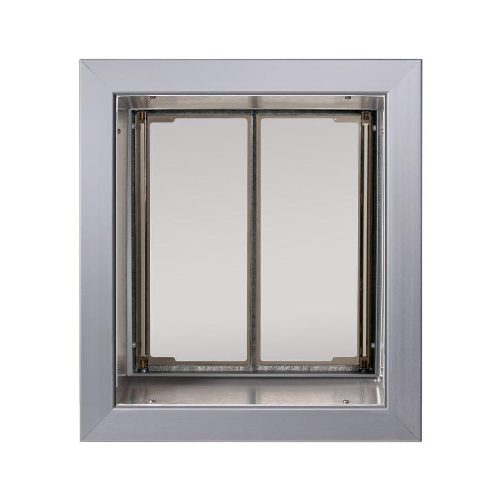 Plexidor performance pet doors 9 in x 12 in wall mount for Door in the wall