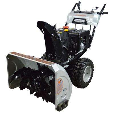 DHT 30 in. Dual Stage Gas Snow Blower with 302cc Electric Start Engine