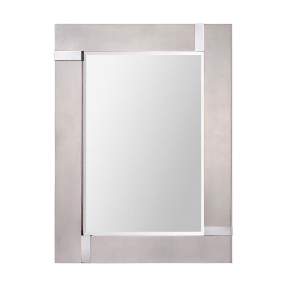Capiz 40 in. H x 30 in. W Vertical Mirror