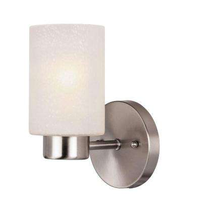 Sylvestre 1-Light Brushed Nickel Wall Fixture