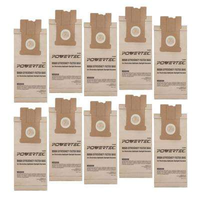 High Efficiency Filter Bag Replacement for Electrolux Aptitude Upright Vacuum (10-Pack)