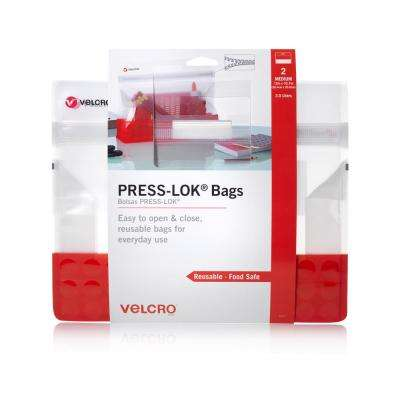 PRESS-LOK Medium Reusable Bags (2-Count)