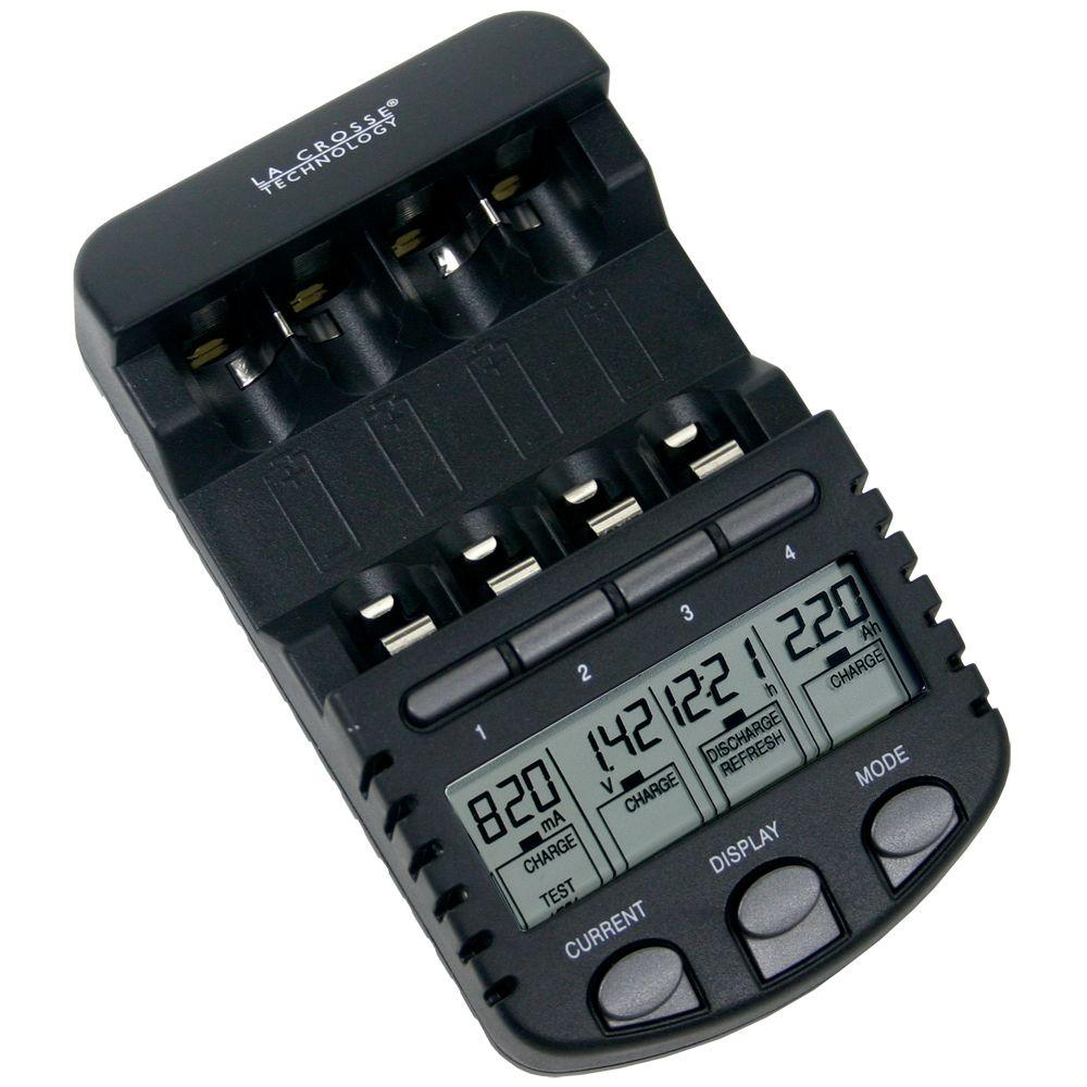 Digital Battery Charger with AC adapter