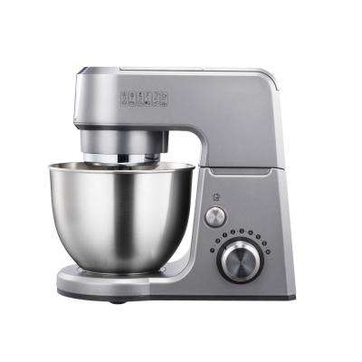 GM25 2.6 Qt. Mini 4-in-1 Tilt Head Silver Stand Mixer