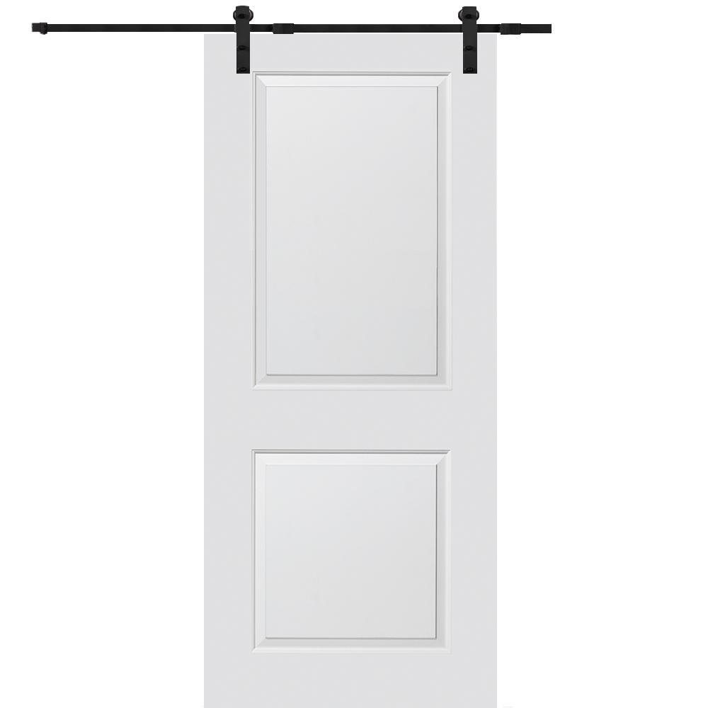 Mmi Door 36 In X 84 Smooth Carrara