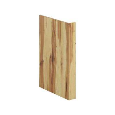 24 in. x 34.5 in. x 1.5 in. Kitchen Dishwasher End Panel in Hickory