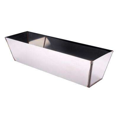 12 in. Stainless Steel Mud Pan