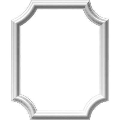 16 in. W x 20 in. H x 1/2 in. P Ashford Molded Scalloped Wainscot Wall Panel