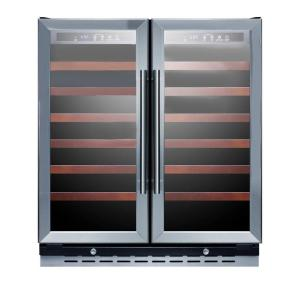 Click here to buy Summit Appliance 30 inch 66-Bottle Wine Cooler with Two Temperature Zones by Summit Appliance.