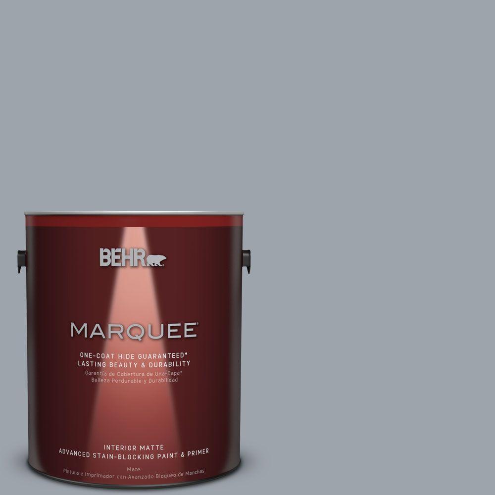 1 gal. #MQ5-22 Rainmaster One-Coat Hide Matte Interior Paint
