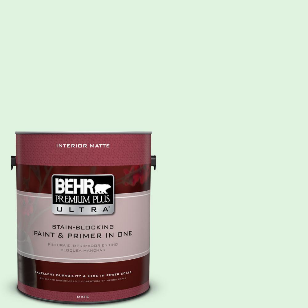 BEHR Premium Plus Ultra 1 gal. #P400-1 Mischievous Matte Interior Paint