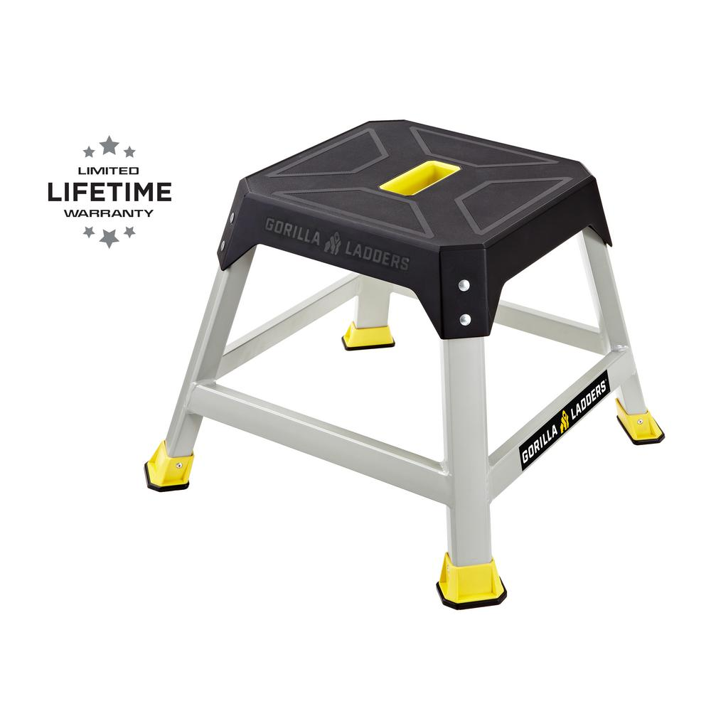 Gorilla Ladders 1.3 ft. L Steel Step Platform, 300 lbs. Load Capacity