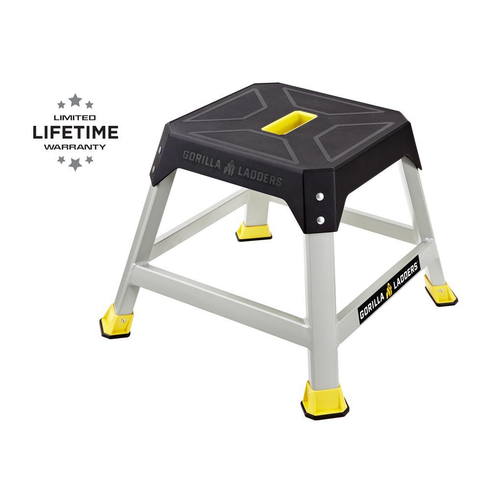 1.3 ft. L Steel Step Platform, 300 lbs. Load Capacity