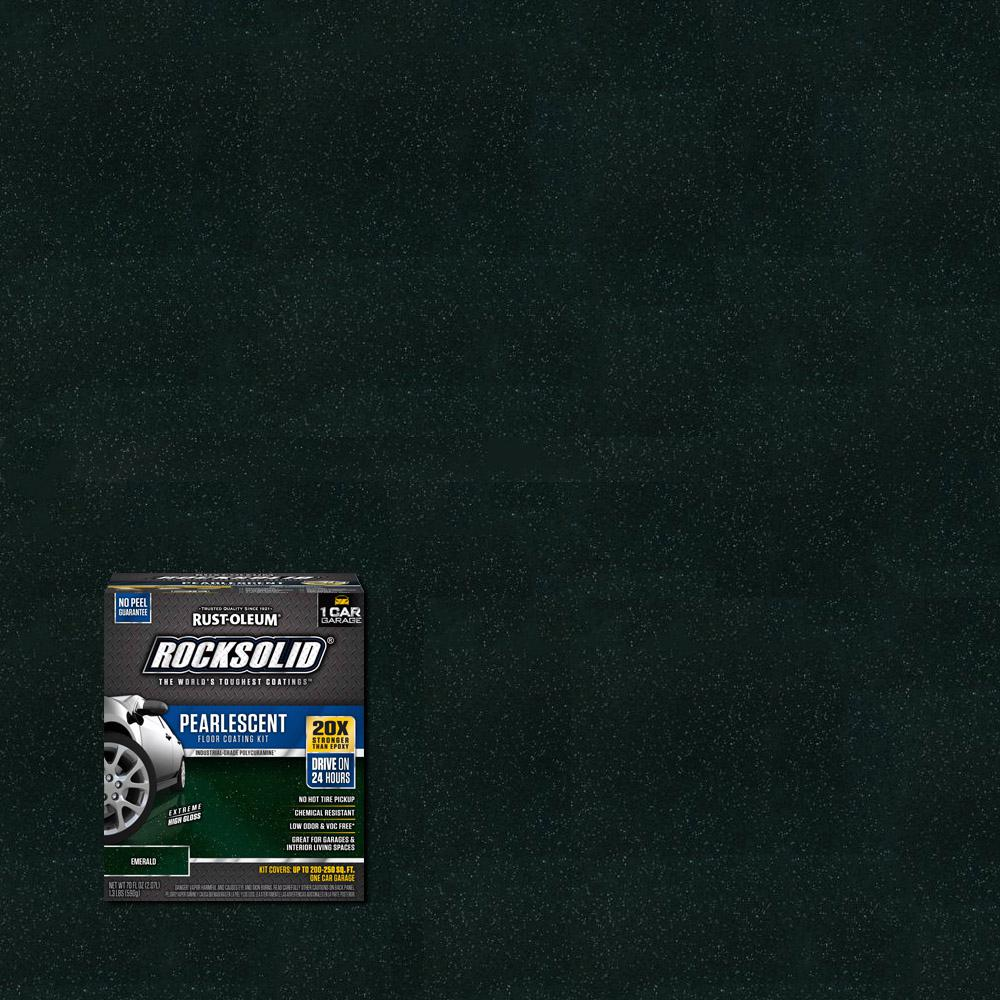 76 oz. Pearlescent Emerald Garage Floor Kit