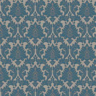 Majestic Teal Removable Wallpaper