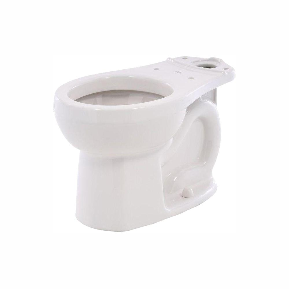 American Standard 3708.216.020 H2Option Siphonic Dual Flush Round Front Toilet Bowl White Bowl Only