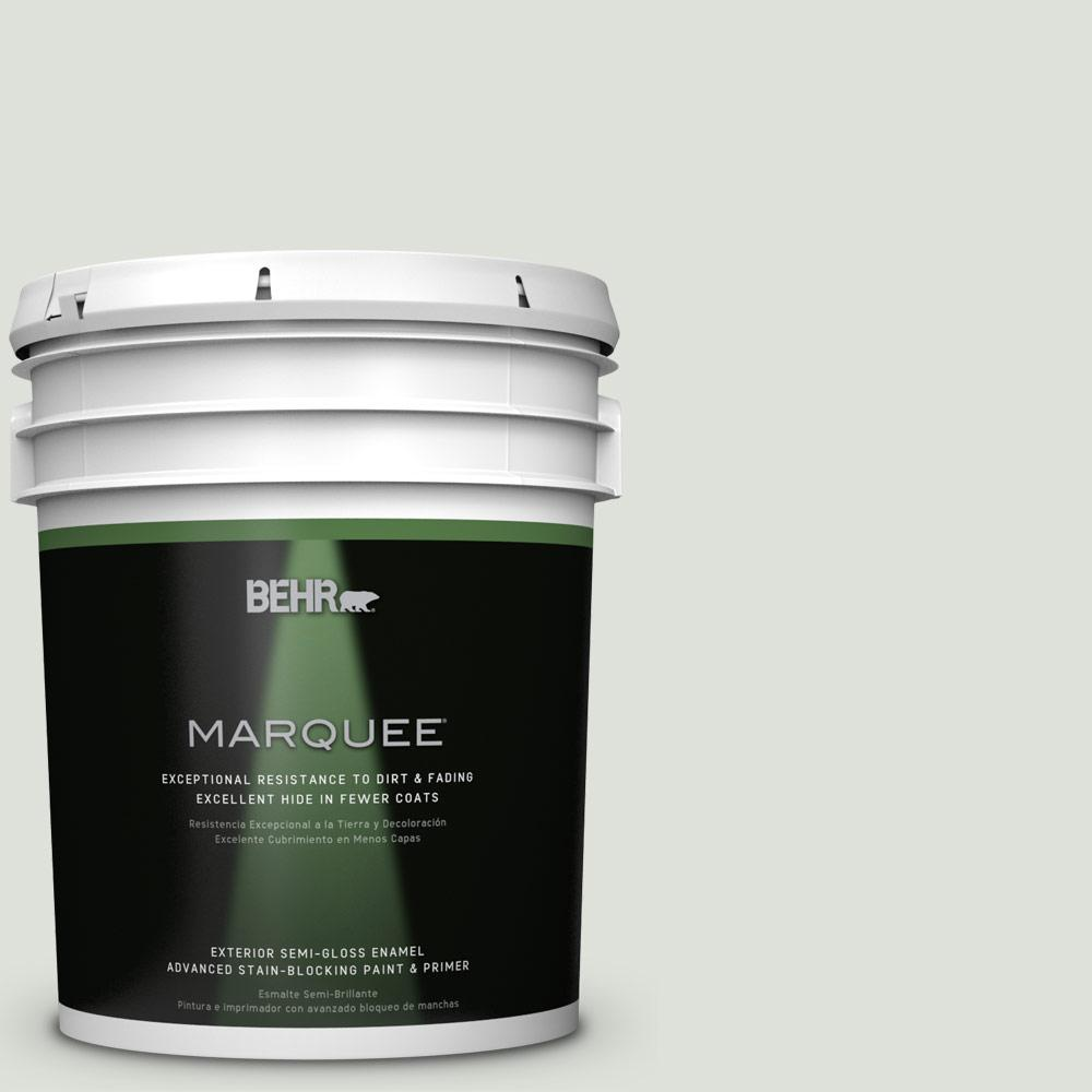 BEHR MARQUEE 5-gal. #QE-41 Frostproof Semi-Gloss Enamel Exterior Paint