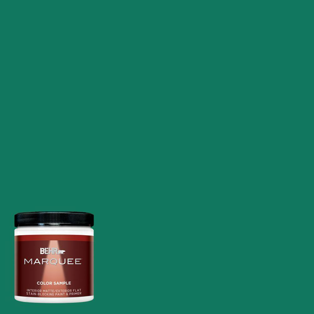 8 oz. #MQ4-14 Soapstone Matte Interior/Exterior Paint and Primer in One