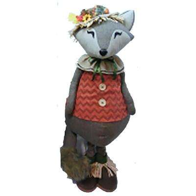 36 in. Standing Fox Decor Female