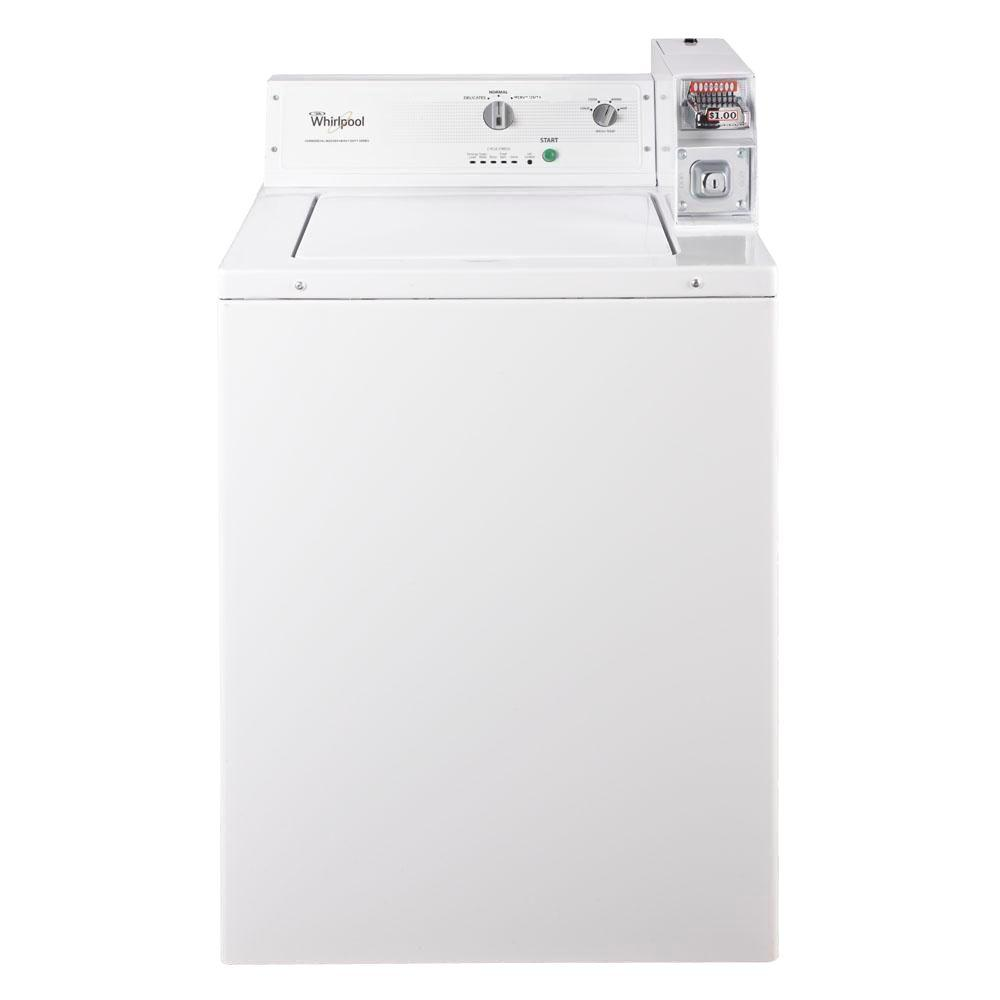 Whirlpool Heavy-Duty Series 2.9 cu. ft. Commercial Top Load Washer in White